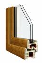 Okna Veka okleina w kolorze Shogun AC