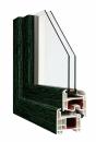 Okna Veka okleina w kolorze zielonym