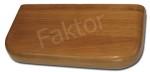 Drewno Dąb - parapet wewnętrzny z drewna
