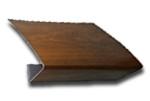PCV Orzech - imitacja drewna nakładki na parapet