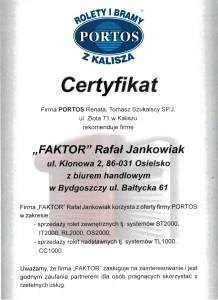 certyfikat-portos