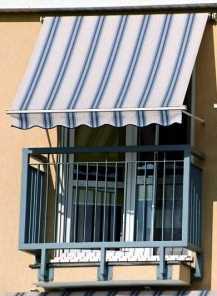 Markizy, refleksole i żaluzje zewnętrzne - markiza balkonowa - Faktor Bydgoszcz