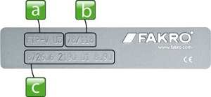 symbole-okien-dachowych-fakro-tabliczka-znamionowa-faktor-bydgoszcz